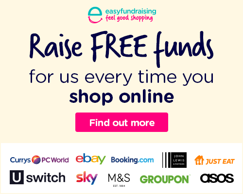 Display easyfundraising banner