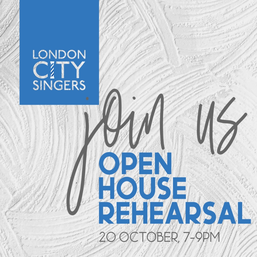 Join our open house rehearsal